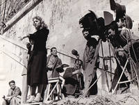 image of Love in the City [L'amore in citta] (Original photograph of Rita Josa and Michelangelo Antonioni on the set of the 1953 Italian anthology film)