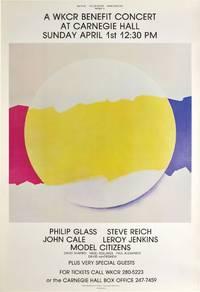 image of A WKCR benefit Concert at Carnegie Hall, April 1, 1979 (Original Poster)