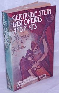 image of Last Operas and Plays