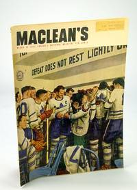 Maclean's - Canada's National Magazine, 15 March (Mar.) 1951 - Toronto Maple Leafs Front Cover / Comrade Tim Buck of Canada's Communist Party