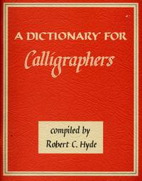 A Dictionary for Calligraphers