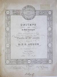 [AWV 23]. Gustave ou le Bal masqué Opéra historique en 5 Actes Paroles de Mr. Scribe... Avec Accompagnement de Piano Par V. Rifaut Prix: 60 fr. [Piano-vocal score]