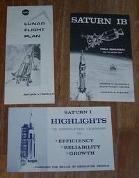 LOT OF THREE SATURN PAMPHLETS, GEORGE C. MARSHALL SPACE FLIGHT CENTER,  HUNTSVILLE, ALABAMA