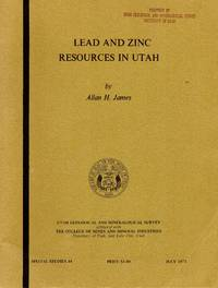 Lead and Zinc Resources in Utah