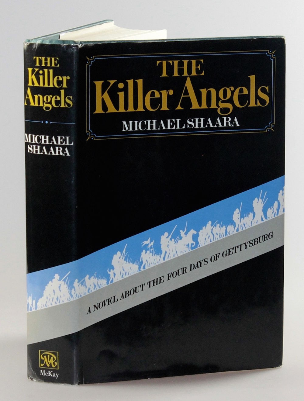 "the killer angels book review ""the killer angels"" was turned down by 15 publishers before it was accepted in 1972 by the david mckay company, which was best known as a publisher of comic books like ""blondie,"" ""dick tracy"" and ""popeye"" mckay was acquired by random house in 1973 and published the book in 1974 the initial production run was only 3,500 copies."