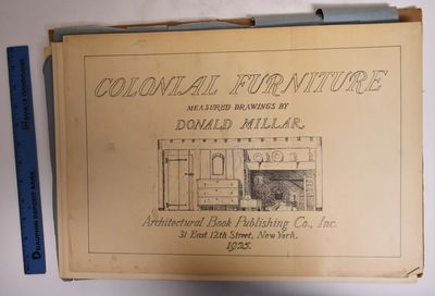 New York: Architectural Book Publishing Co, 1925. Paperback. VG- soiling and/or discoloration to cov...