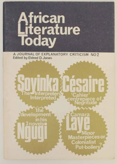 London: Heinemann Educational Books, 1969. First edition. Softcover. 64 pages. Includes articles by ...