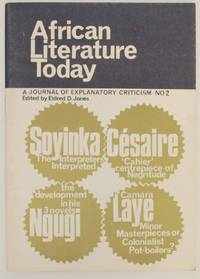 African Literature Today: A Journal of Explanatory Critism No 2 1969