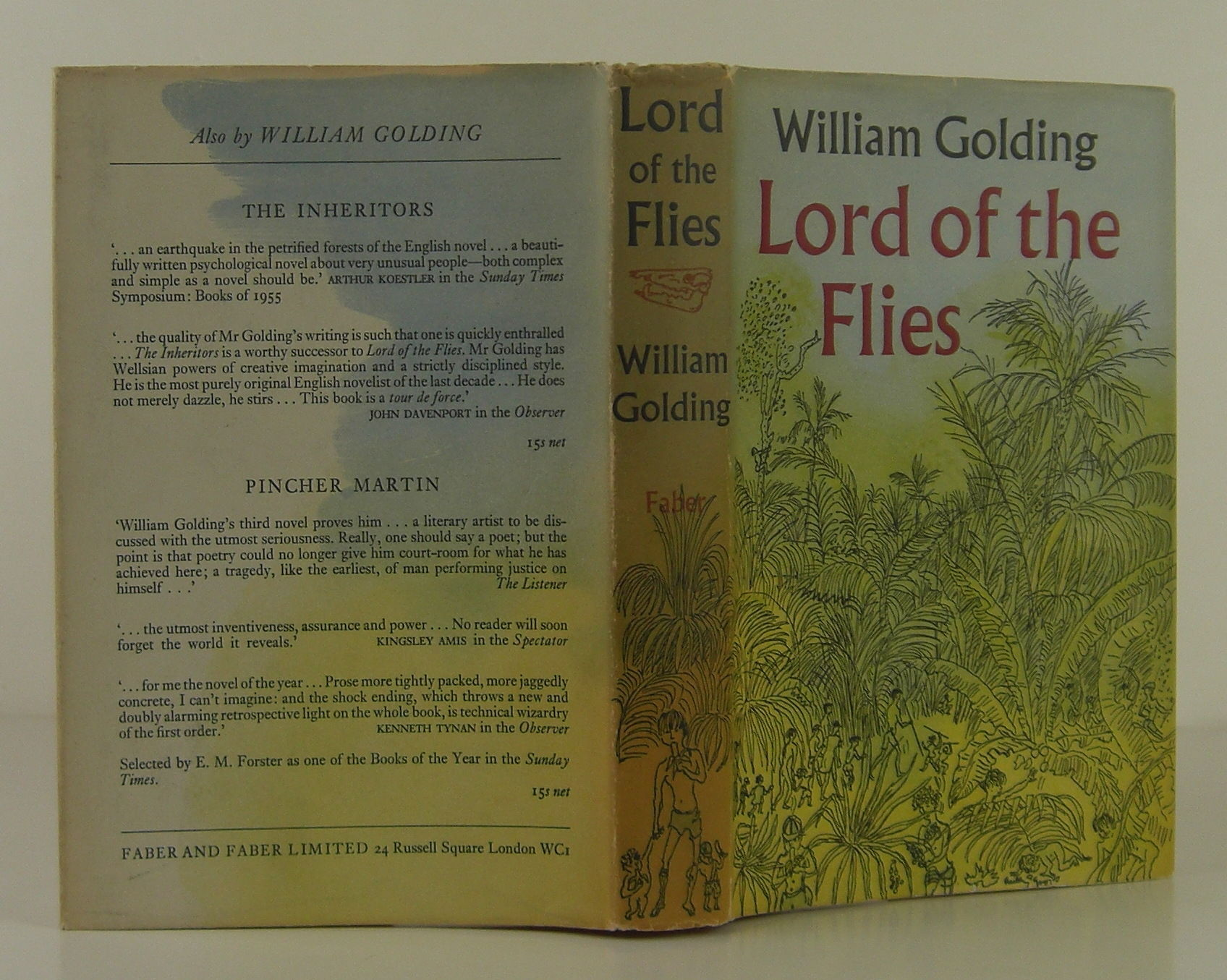 archetypes in lord of the flies