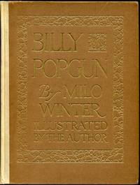 Billy Popgun By Milo Winter 1912 1st Edition HC Slipcase Art Deco Illustrations