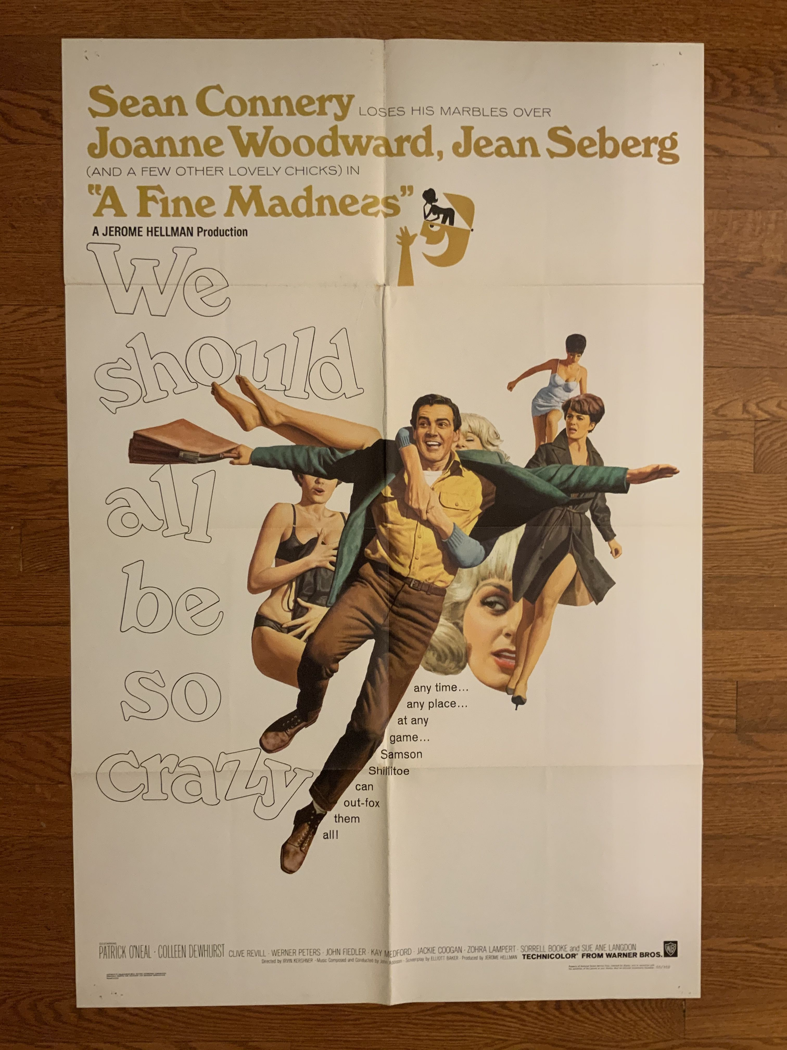 A Fine Madness *** (1966, Sean Connery, Joanne Woodward