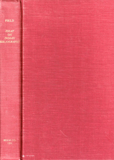 New Haven: William Reese Company, 1991. Hardcover. Very good. 430pp. Boards lightly edgeworn, else a...