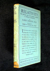 image of Relativity: the Special and the General Theory: a popular exposition.