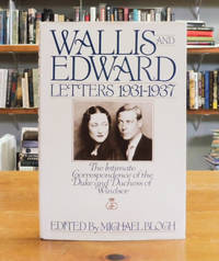 image of Wallis and Edward: Letters 1931-1937