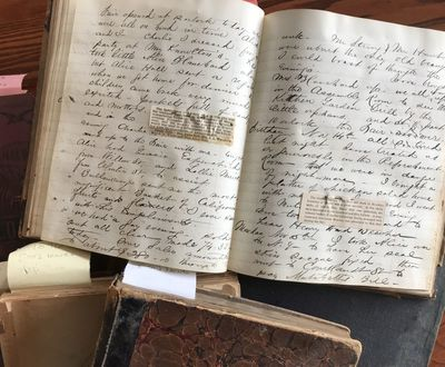 pp. Mostly quarto volumes, a few folios. Several with boards either loose or lacking; wear to bindin...