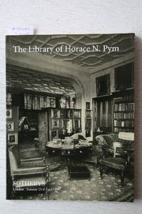 Sale 23 April 1996: The library of Horace N. Pym (1844-1896).