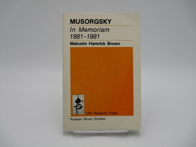 Ann Arbor, Mi. : UMI Research Press. , 1982. Softcover, white printed wraps. . Very good, slight cre...