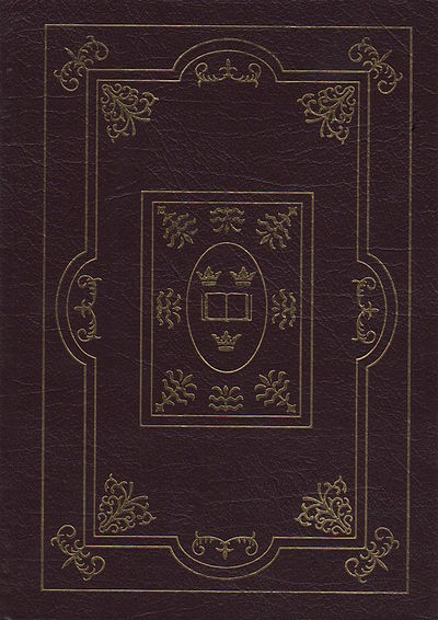 Norwalk, CT: Easton Press, 2002. Hardcover. Octavo., 802pp; VG; bound in fine brown genuine leather ...