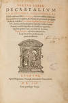 View Image 4 of 10 for Liber Sextus Decretalium Clementinae Extravagantes Inventory #71497