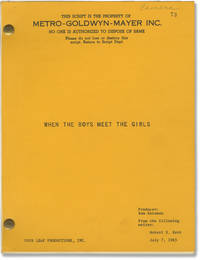 image of When the Boys Meet the Girls [Girl Crazy] (Original screenplay for the 1965 film)