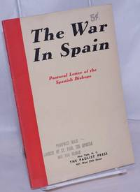 image of The war in Spain; pastoral letter of the Spanish Bishops
