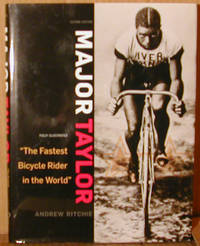 """image of Major Taylor. """"The Fastest Bicycle Rider in the World"""""""
