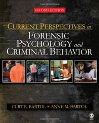 image of Current Perspectives in Forensic Psychology and Criminal Behavior