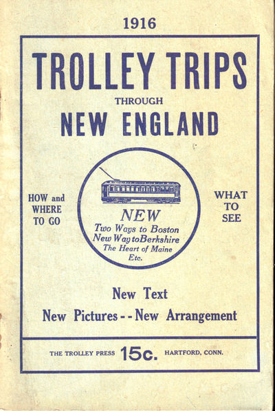 Hartford: Trolley Press, 1926. Paperback. Very good. 128pp. Tanned overall, else very good in publis...