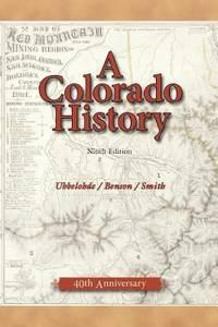 image of A Colorado History, 10th Edition