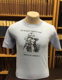 Bonnie Abbzug T-Shirt - Light Blue (L); The Monkey Wrench Gang T-Shirt Series