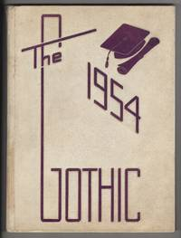 Gothic 1954 (1954 Yearbook, Bloomington High School, Indiana)