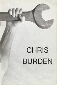 Chris Burden (Signed Artist's Book with Drawing)