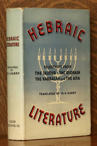 image of HEBRAIC LITERATURE, TRANSLATIONS FROM THE TALMUD...