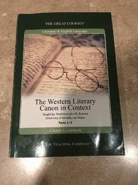 The Great Courses: Western Literary Canon in Context