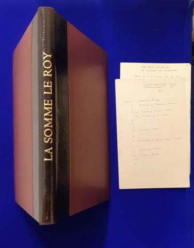 An Illuminated Manuscript of La Somme...