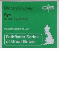 Pathfinder map sheet 1271 Rye