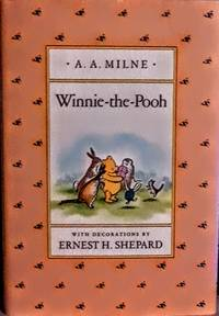 WINNIE THE POOH/ A.A MILNE/ DUTTON CHILDREN'S BOOKS NEW YORK/1926/ HARDCOVER WITH DUST JACKET/ NEAR FINE CONDITION