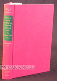 N.P.: American Antiquarian Society, 1969. cloth. 4to. cloth. xxvii,548; xxi,549-1028 pages. 2 volume...