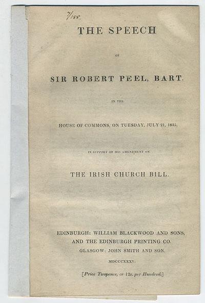 Edinburgh: William Blackwood & Sons, and the Edinburgh Printing Co.; Glasgow: John Smith & Son, 1835...