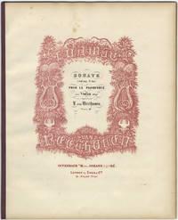 [Op. 96]. Sonate (Sol maj. G dur.) Pour le Pianoforté avec Violon obligé. [ Score]