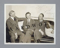 image of 1934 Photograph Of Charles Lindbergh With William Gibbs McAdoo