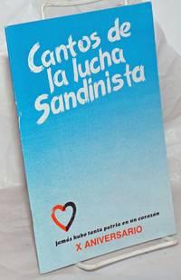 image of Cantos de la lucha Sandinista