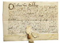 Latin Deed from the Reign of Queen Elizabeth I of England