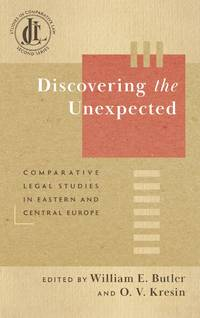 image of Discovering the Unexpected: Comparative Legal Studies in Eastern..