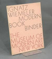 Ignatz Wiemeler, modern bookbinder