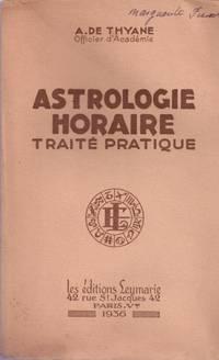 Astrologie horaire. Traité pratique