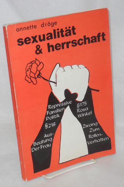Munster: Verlag Frauenpolitik, 1976. Paperback. 190p., illustrations, text in German, a few pen note...