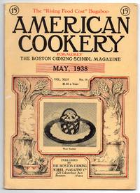Nice Vintage Issue of the American Cookery Magazine for May 1938