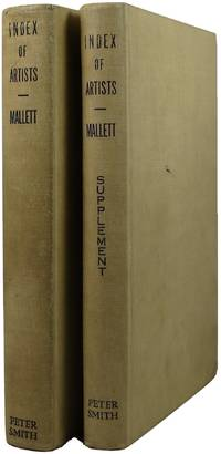 Mallett's Index of Artists: International--Biographical plus Supplement, 2 volumes