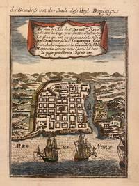 Le plan... de la Ville de San Domingo ou de St. Dominique